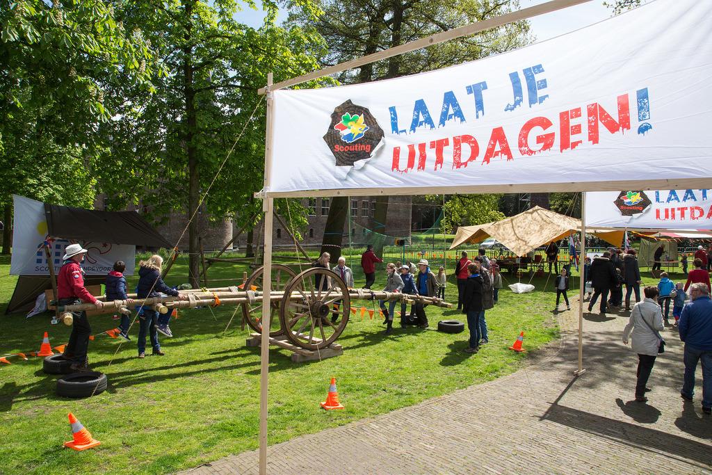 Laat je uitdagen bij Scouting Brandevoort