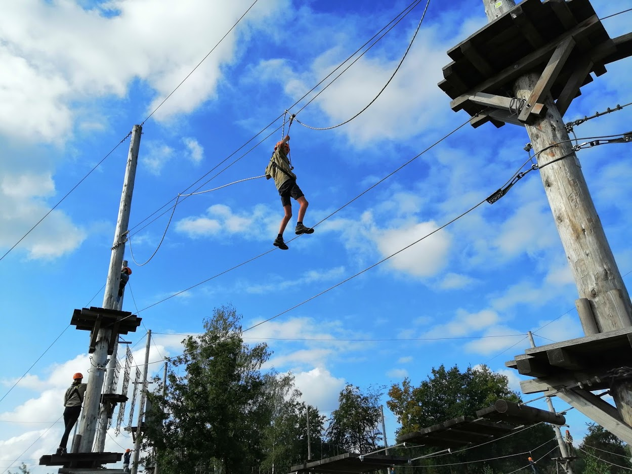 Scouts klimmen