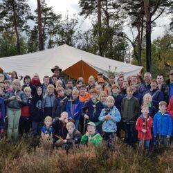 Scouting Brandevoort steunt IVN Helmond tijdens de natuurwerkdag 2019